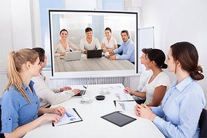 Projector Using In Office