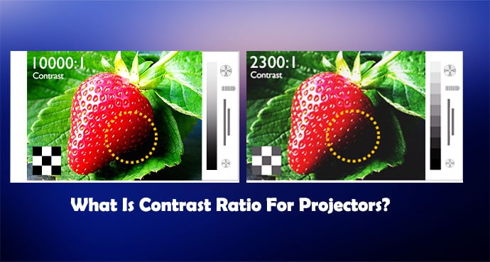 What Is Contrast Ratio For Projectors?