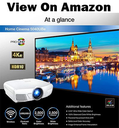 Epson Home Cinema 5040UBe