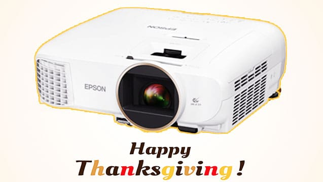 Thanksgiving Projector Deals 2019